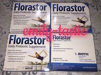 Brand New Florastor Probiotic 4 x 50 Capsules 250 MG EXPIRES AUGUST 2020