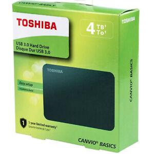 Disco Duro Portátil Toshiba 4 TB (4000 GB) USB 3.0