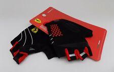 Ferrari Sports Gloves mesuca Bicycle Scooter Skateboard child size MEDIUM nylon