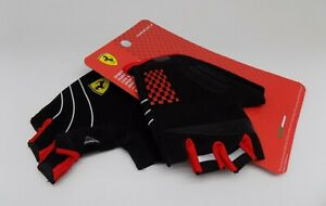 Ferrari Sports Gloves mesuca Bicycle Scooter Skateboard child size LARGE nylon