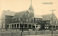 c1910 All Saints School, Gladstone, Michigan Postcard