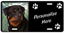 Rottweiler  # 1  Personalized  Pet  License Plate