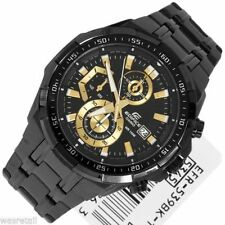 Import CASIO EFR-539BK CHRONOGRAPH MENS BLACK WATCH