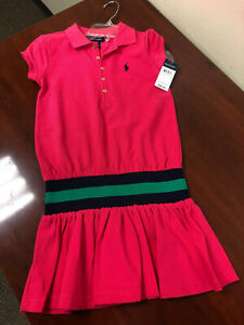 Ralph Laren Girl's S/S Dress 313135686