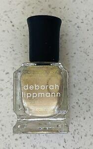 """New Deborah Lippmann I Like Me Better Gel - """"Lights Up"""" - Full Size 0.27oz/8ml."""