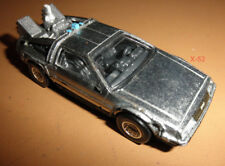 BTTF diecast DELOREAN back to the future HOT WHEELS time machine toy