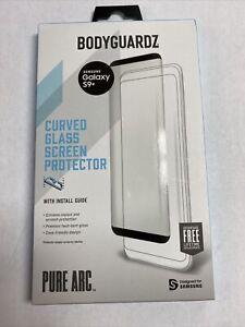 BodyGuardz Pure Arc Glass Screen Protector Ultra Galaxy S9 Plus s9+