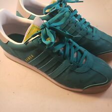 Adidas Samoa D74321 Casual Sneakers Shoes Teal/Grey Mens Size 11.5 Worn Once