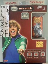 Disney Mix Stick MP3/WMA Digital Music Player NIB GR8 4 KIDS GOING THRU ISOLATIO