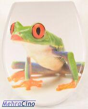 WC-Sitz Toilettendeckel  Frosch mit Absenkautomatik-63