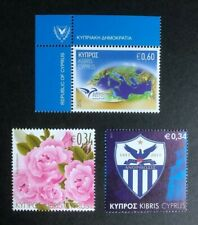 Cyprus Stamps - 2011 & 2014 - The Mediterranean - Roses - Centenary - MNH.