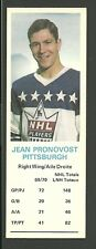 Jean Pronovost Pittsburgh Penguins 1970-71 Dad's Cookies Hockey Card EX/MT
