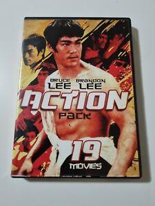 BRUCE LEE BRANDON LEE ACTION PACK 19 Movies Region 1