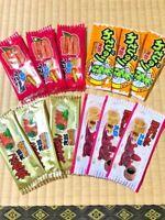 *MADE IN JAPAN Japanese Snack 4 taste Grilled meat eels Wasabi Vinegorate F/S
