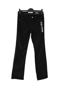 Damen Jeans Hose schwarz BOOTCUT NEU Größe W30 L32