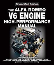 Alfa Romeo V6 Engine High-Performance Manual 1981-1993 Tuning Handbuch Buch book