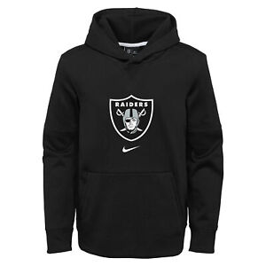 Nike NFL Football Youth Oakland Raiders Circuit Logo Essential Pullover Hoodie