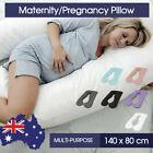 Maternity Pregnancy Nursing Sleeping Body Support Boyfriend Pillow 80 x 140cm AU