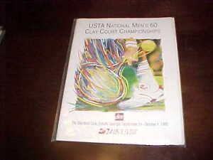 1995 USTA National Men's 60 Clay Court Championships Tennis Program