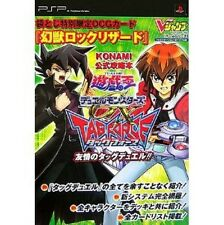Yu-Gi-Oh Duel Monsters GX TAG FORCE Yujou no Tag Duel Strategy Guide Book PSP