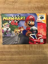 Mario Kart 64 (Nintendo 64, 1997) Complete in Box - Tested & Works! Ships Free!
