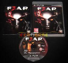 F.3.A.R. Ps3 F.E.A.R. FEAR 3 Versione Ufficiale Italiana 1ª Edizione •• COMPLETO
