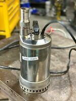 Goulds Submersible Dewatering Pump 3/4 hp Stainless Steel 1DW51D4EA