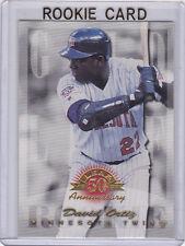 DAVID ORTIZ RC Gold Leaf BASEBALL ROOKIE CARD Boston Red Sox BIG PAPI DH!