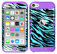 For Apple iPod Touch iTouch 5 | 6 - KoolKase Hybrid Cover Case - Zebra Blue