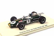BRABHAM BT24 3RD SOUTH AFRICA 1968 JOCHEN RINDT 1:43 SPARK S4337 RESIN NEW MODEL