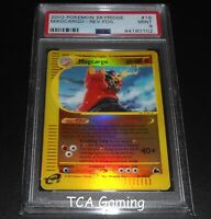 PSA 9 MINT Magcargo 18/144 Skyridge REVERSE HOLO Pokemon Card