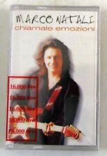MARCO NATALI - CHIAMALE EMOZIONI - Musicassetta Sigillata MC K7