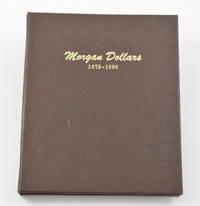 Used Dansco 1878-1890 Morgan Dollars Empty Coin Album Book - 18 Oz. *588