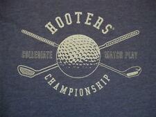 Hooters Golf Golfing Collegiate Match Play Championship  Retro-Style T Shirt XL