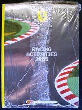FERRARI RACING ACTIVITIES 2005 - MOTOR SPORT ANNUAL CAR BOOK NEW