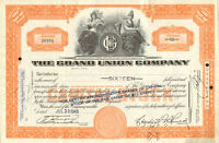The Grand Union Company > 1948 stock certificate share