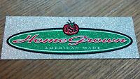 "Schwinn Bicycle, Sticker, HOME GROWN, USA, AMERICAN MADE, 8-1/2 x  2-7/8"""