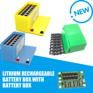 12V 3S7P Lithium Rechargeable Battery Box with Battery Box + Bracket + 40A BMS