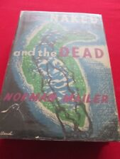 NORMAN MAILER - THE NAKED AND THE DEAD - THIRD IMP JULY 1949 WINGATE HB BOOK