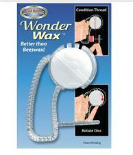 Bead Buddy Wonder Wax. Condition Thread. Better Than Beeswax. Rotate Disc.