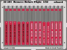 Eduard 1/32 'Remove Before Flight' Tag Usaf 32501