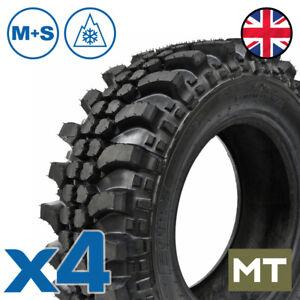 X4 235/75 R15 SMX Tyres tread copy 115Q 4x4 Mud Terrain MT Offroad M+S 3PMSF