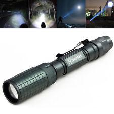 Vander 8000LM T6 LED Taschenlampe Mini Taktische Handlampe Superhell Lampe