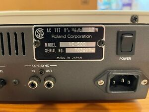 Roland MC-500 MICRO COMPOSER midi sequencer Mint w/ original box, disks, manual