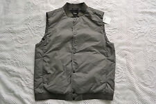 THEORY Men's 'Zayn V Veere' Vest Gray Size L Brand new Trim fit