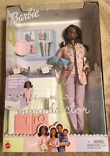 Happy Family AA Barbie Baby Doctor With Twins-Barbie-Rare-Excellent Condition