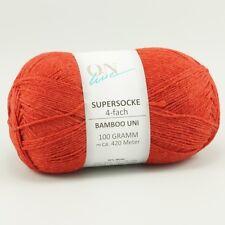 SUPERSOCKE 100 BAMBOO UNI von ONline - Farbe 1596 - 100 g / ca. 420 m Wolle