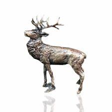 Bronze Stag Figure - Butler & Peach 2050
