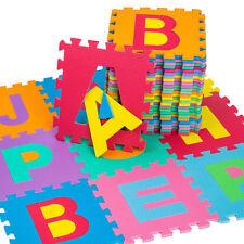 36PCS nouveau bébé enfants en mousse souple alphabet puzzle tapis de jeu tapis de jeu-voir tailles