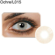1 Pair Unisex Charming Big Eye Cosmetic Colour Contact Lenses Beauty Tool Nuevo